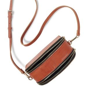 Lucky Brand Structured Cross Body Bag